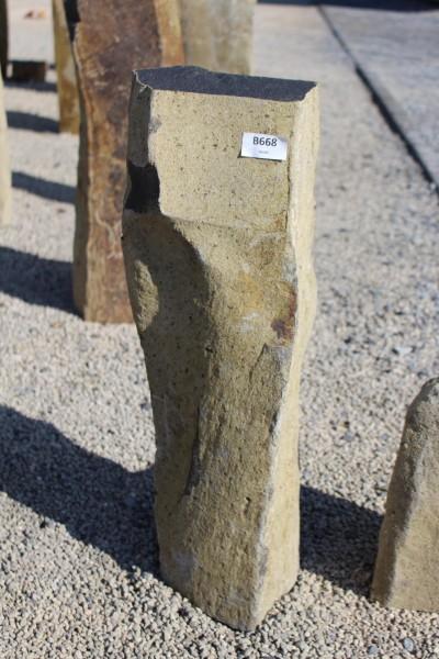 Basaltsäule ca. 19x13x63cm