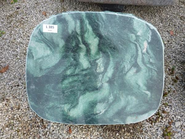 Liegestein aus Atlantis 50x40x12 cm pol./spaltrau
