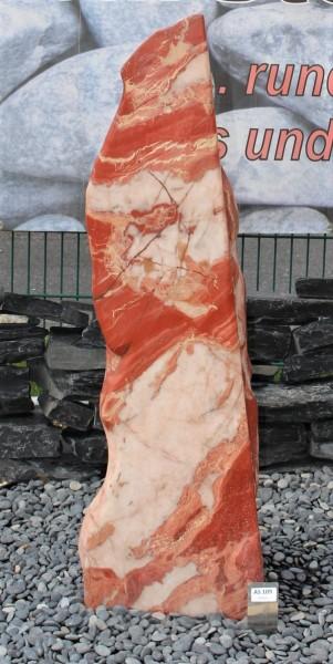 Red Jaspis ca. 35x24x120cm