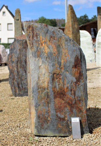 Buntschiefer ca. 40x20x85cm