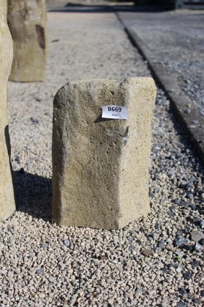 Basaltsäule ca. 19x13x30cm