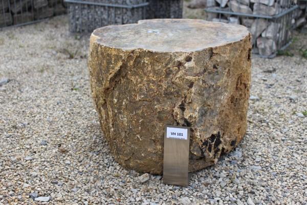 Versteinertes Holz ca. 45x45x32cm