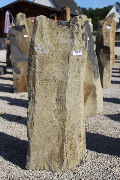 Basaltsäule ca. 28x28x88cm