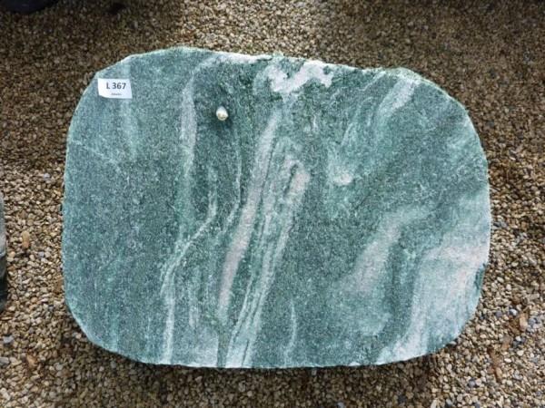Liegestein aus Atlantis 60x45x12 cm, gebr./ gesp.