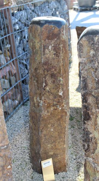 Quellsteinsäule aus Basalt ca. 18x21x80cm