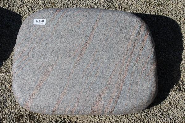 Liegestein aus Halmstad ca. 60x12x45cm