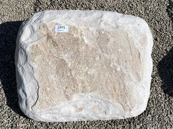 Liegestein aus Palisandro ca. 50x40x12cm