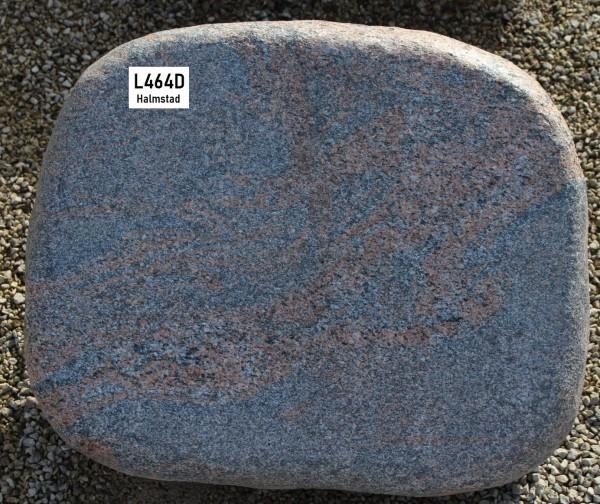 Liegestein Halmstad gebrannt ca. 50x40x15cm