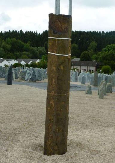 Basaltsäule 50x35x280cm